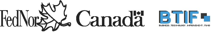 FedNor Canada BTIF Logos